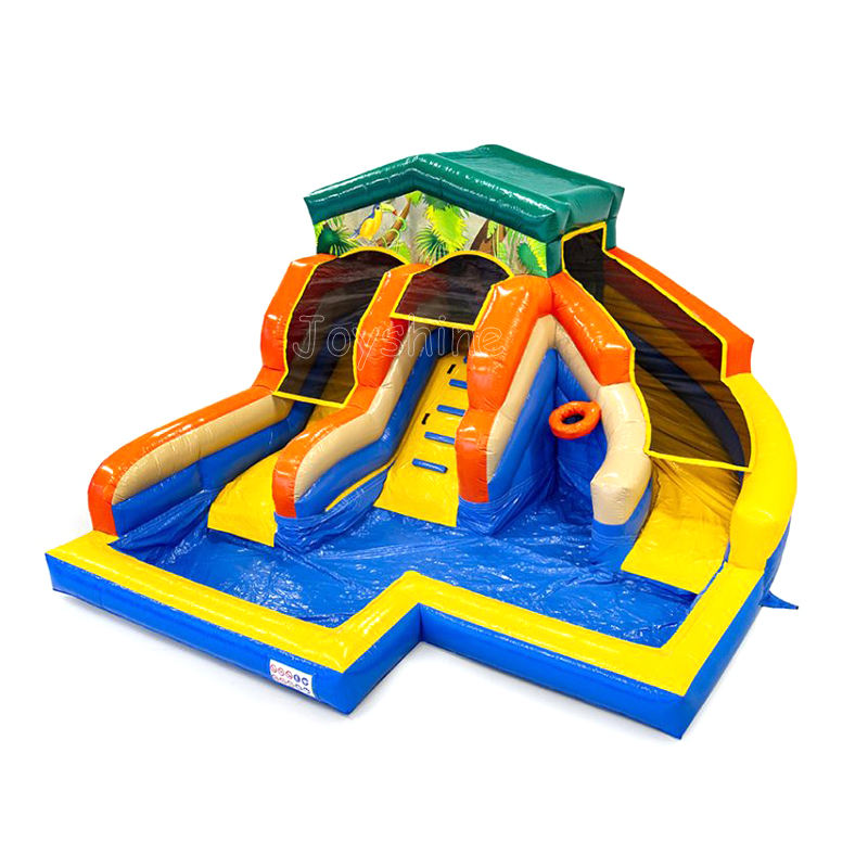 Kids Inflatable Water Slide Kids Backyard Water Slides Inflatable Bounce House Jumping Castle Water Slide With Splash Pool