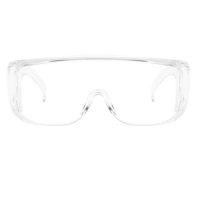 Prescripción Química Virus De Impacto Antisalpicaduras Lente Transparente Antivaho Lentes De Seguridad De Visión Amplia Gafas De