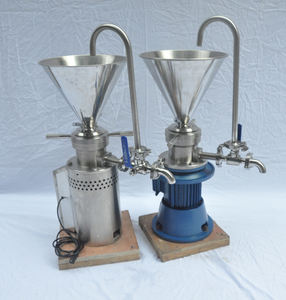 Stainless Steel Peanut Butter Almond Nut Sesame Cocoa Walnut Jelly Grinding Emulsifying Vertical Colloid Mill Machine