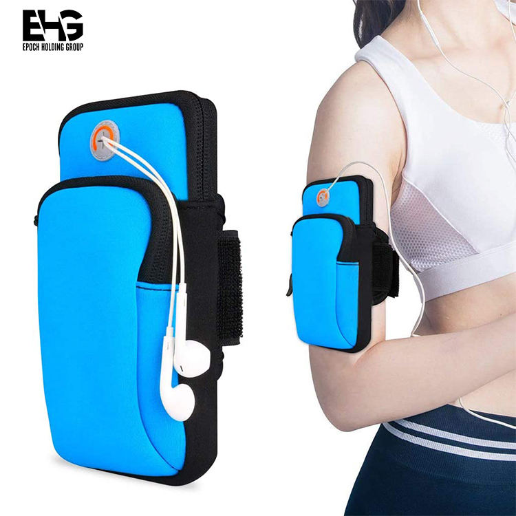 Phone Armband Arm Pouch, Sports Running Armband Holder Multifunctional Double Arm Bag Armband Compatible for MOBILE Phone