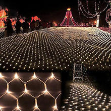 Outdoor Festival Led Fairy String Mesh Net Lights for Christmas Banquet Decoration