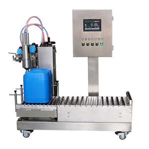 10kg to 30kg ethano barrel gear oil jerry can corrosive liquid chemical filling machine detergent filling equipment