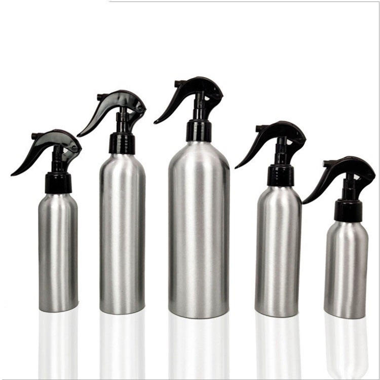 Hot 30ml 50ml 60ml 100ml 120ml 250ml aluminum spray cosmetic perfume dropper bottle