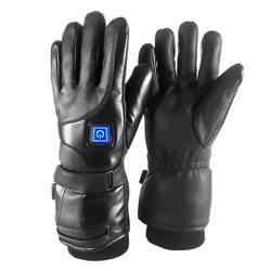 7.4V lithium battery heated gloves electric three-gear temperature motorcycle usb heated gloves