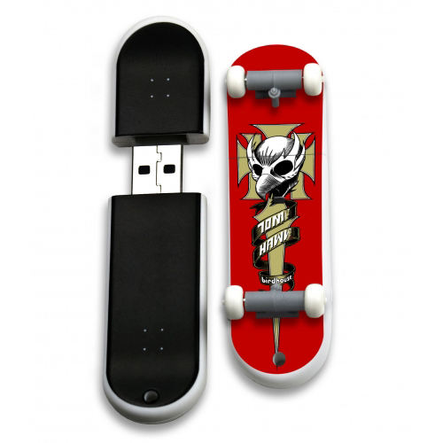 Unique Promotional Items Wheel Skateboard Made In Japan Usb Flash Drive