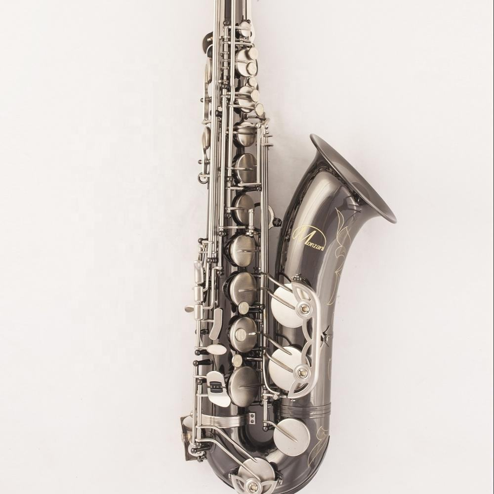 Good quality tenor saxophone black color cheap