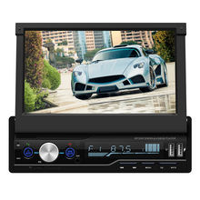 mirror link bluetooth car stereo mp5 player FM/AM/RDS/SD /USB/AUX touch screen 1 din 7 inch car radio