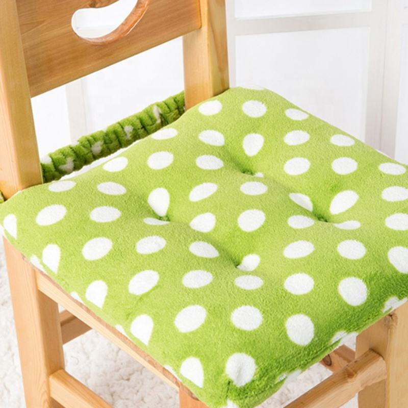 Hot sale cute square children toddler baby seat cushion pad for chair