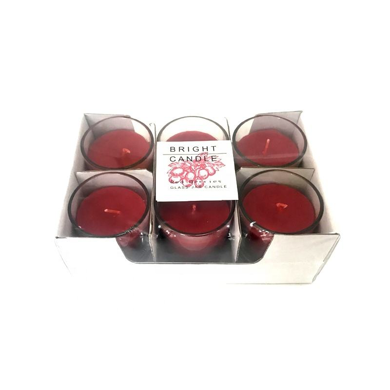6 pack Candle Factory Supplied free samples Scented Candle