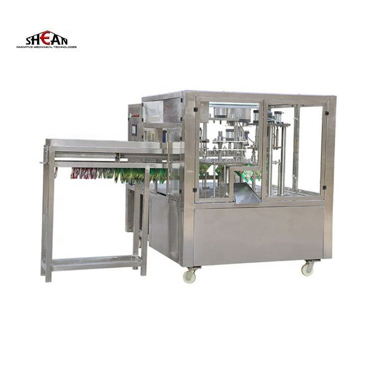 Sachet Liquid Juice Milk Drinking Water Pouch Filling Packing Machine China Factory Price