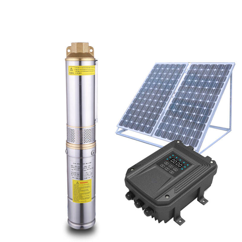 Solar Pool Pump Submersible Stainless Steel Solar Water Pump System