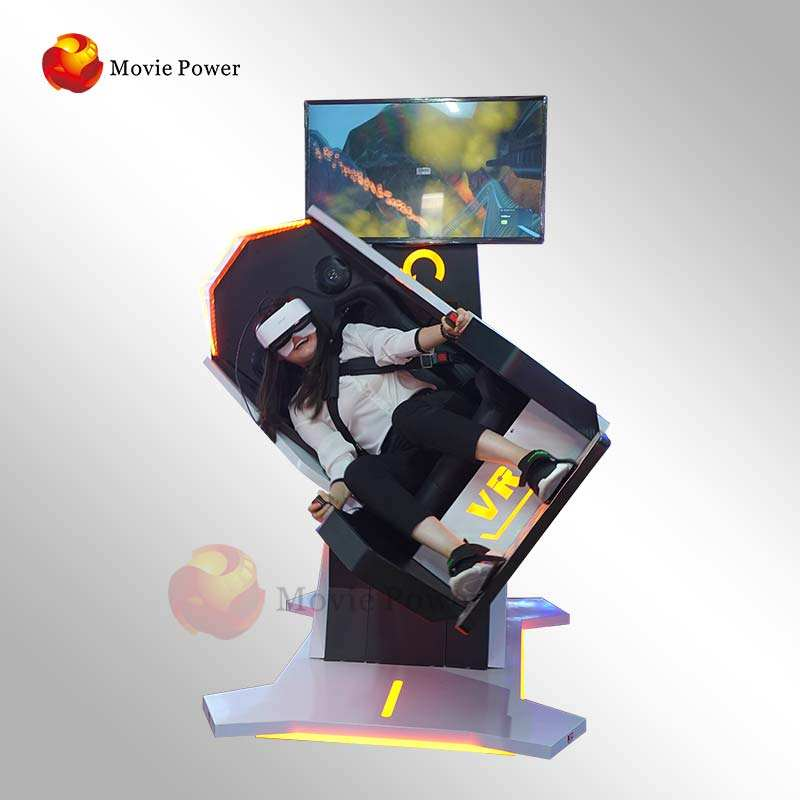 Indoor Playground Roller Coaster Vr Machine 9D Virtual Reality 9D Games Simulator 360 Rotation VR Chair Flight Simulator Price