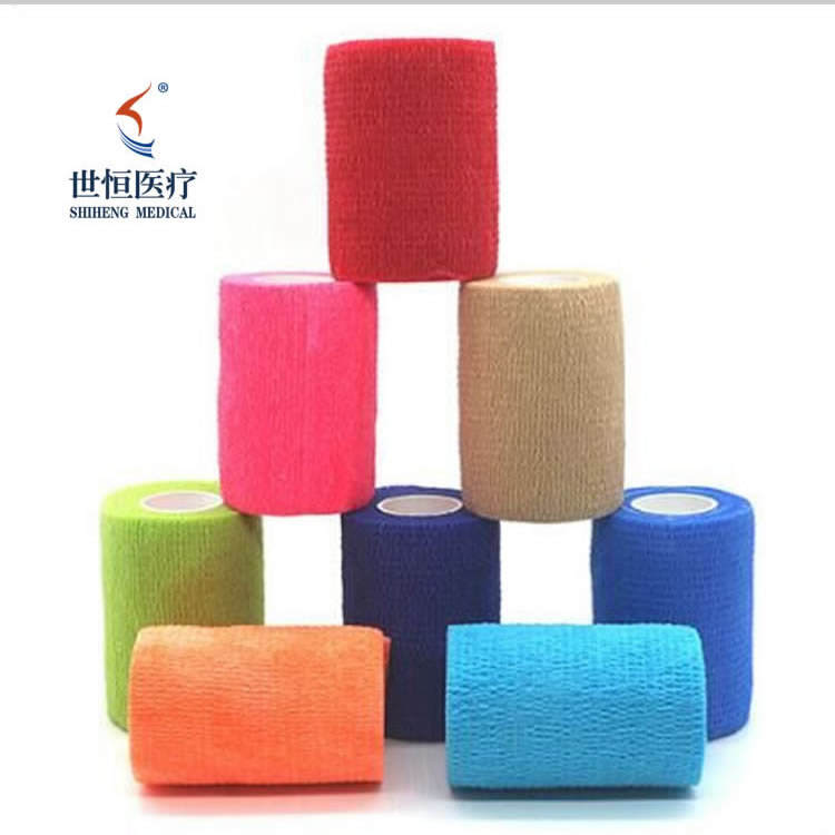 SH-1002 New Type elastic bandage clips and Non Woven Cohesive Tape