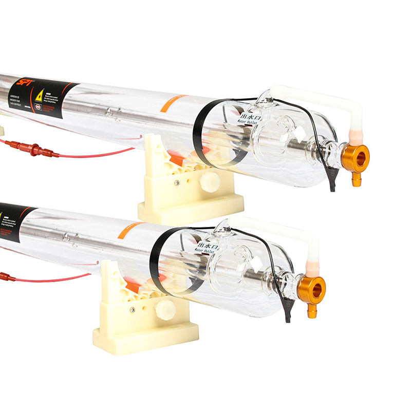 SPT Factory Direct C Series 80W 100W 130W 150W CO2 Laser Tube 100 Watt For Laser Cutting Machine