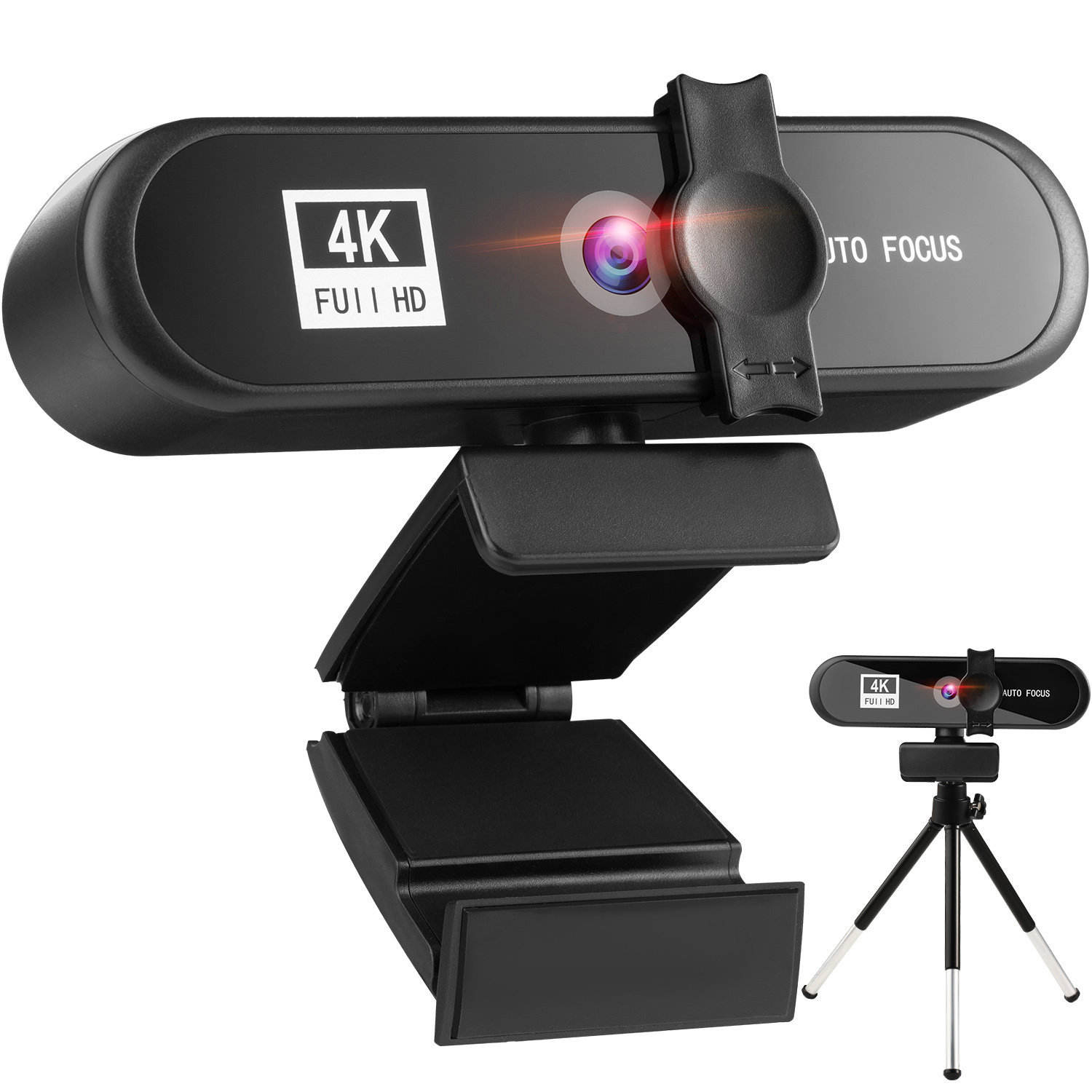 Super 4K FHD Usb Webcam Built-In Mikrofon Autofocus 8MP Komputer PC Kamera untuk Video Youtube LIVE Web kamera
