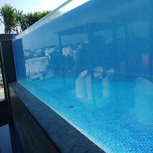 Kingsign manufacture transparent acrylic swimming pool spa