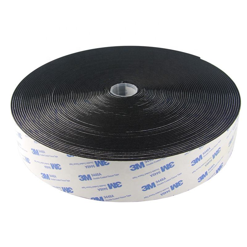 High Quality Manufacturer 100% Nylon High End Reclosable Strong Self-Adhesive Fasteners Hook And Loop 3m Tape