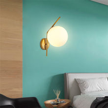 Indoor Wall Lamp Led Decorate Porch Light Suit Home Lighting Wall Bathroom Glass Light