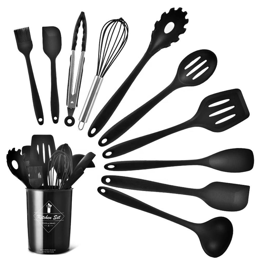Non-stick Cookware Utensil Names of Silicone Kitchen Tools and Uses Food
