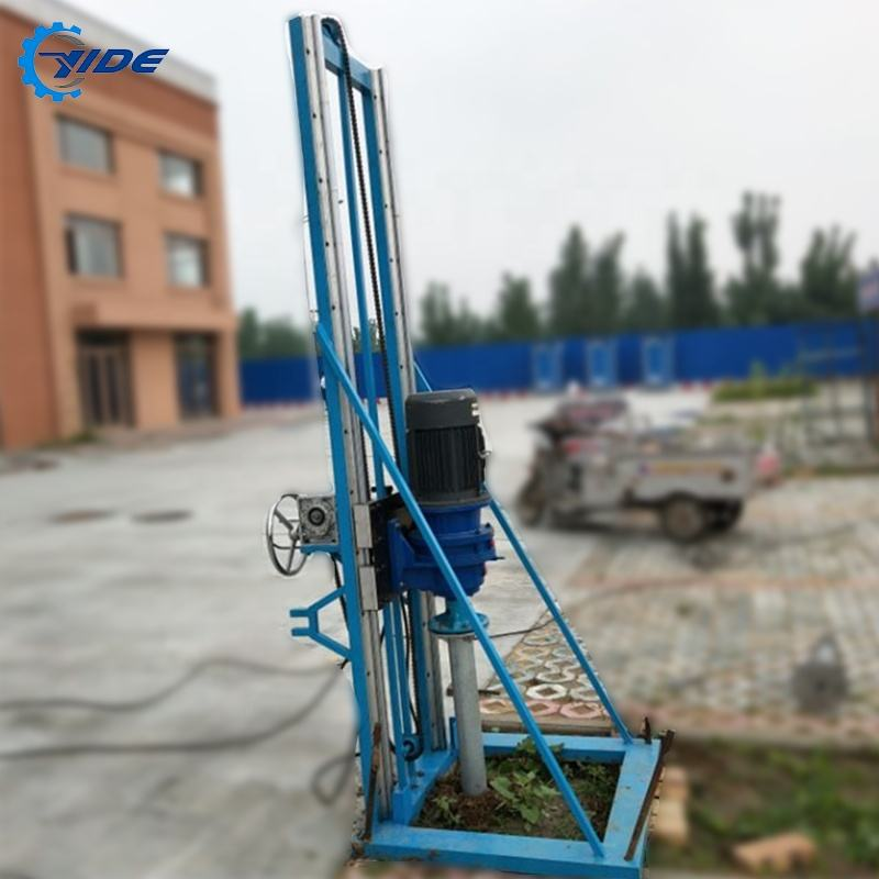 Hydraulic electric rotary borehole portable automatic screw driver drilling rigs for sale