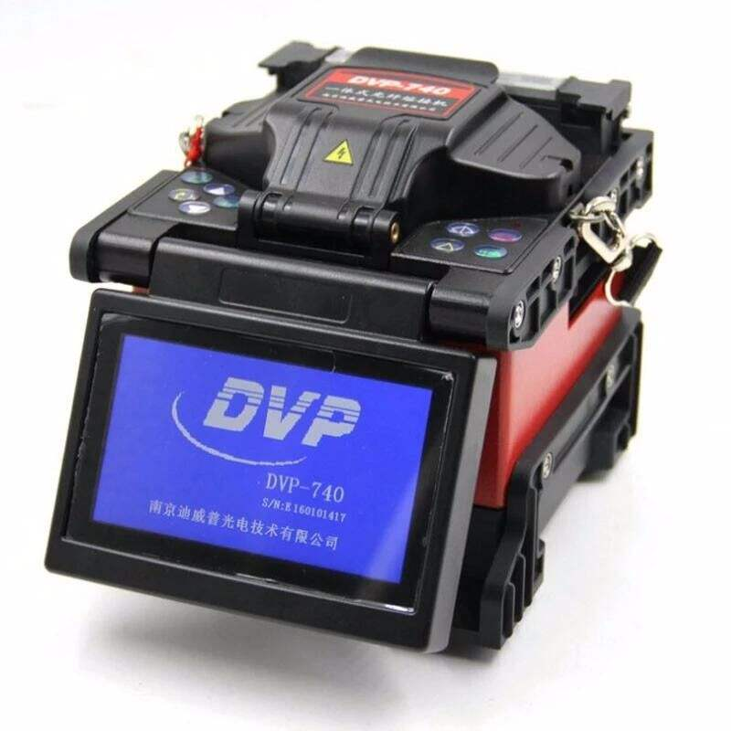 Multi language fiber optical ftth tool kit DVP 740 fusion splicer machine
