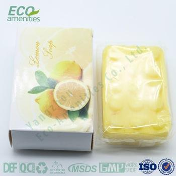New arrival high quality fruit formula hotel soap