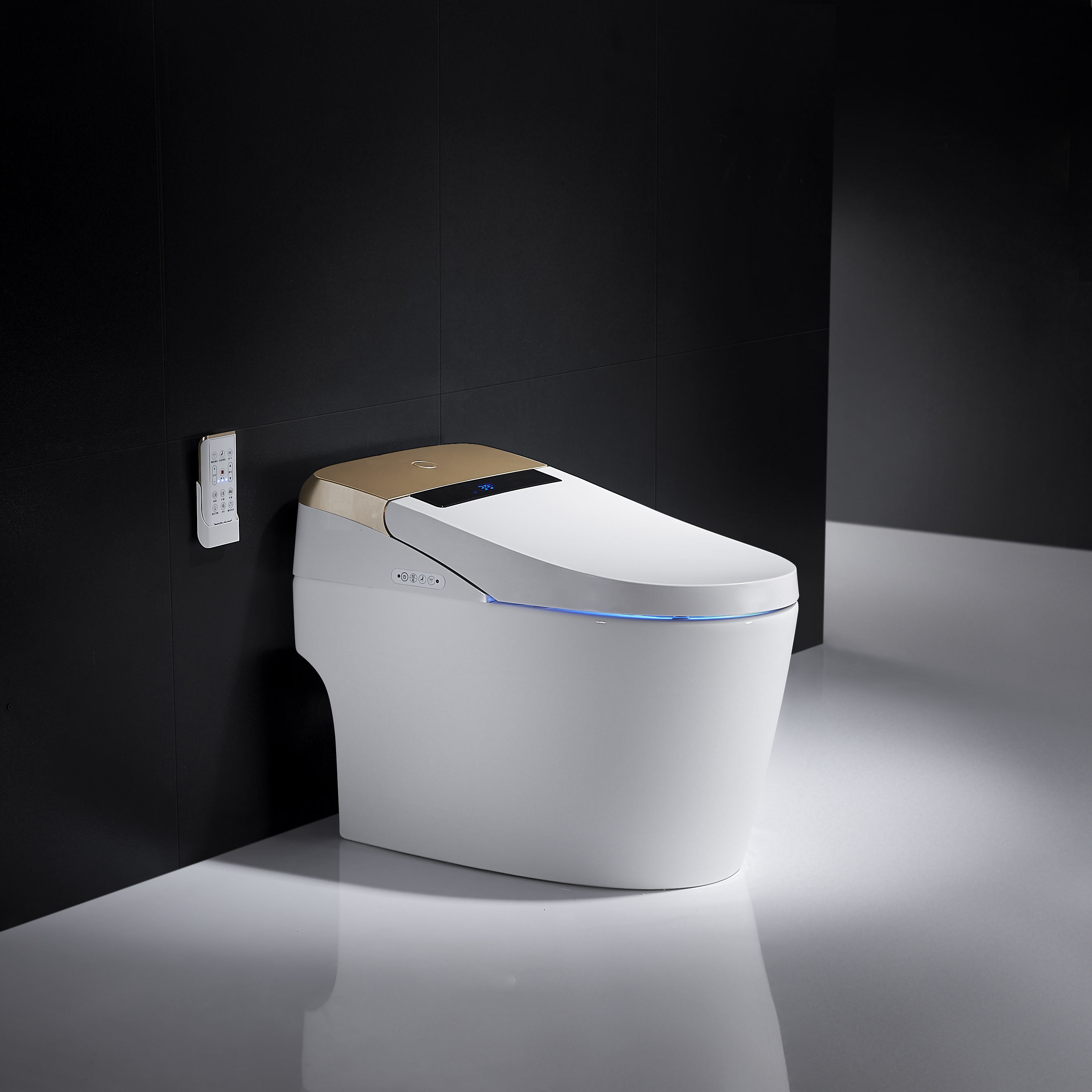 1000pcs 1//2 Fold Paper Toilet Seat Cover and 1pc Toilet Seat Cover Dispenser