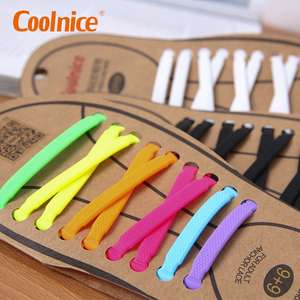 COOLNICE Cheap Lazy Shoe Laces Elastic Shoelaces For Sneakers