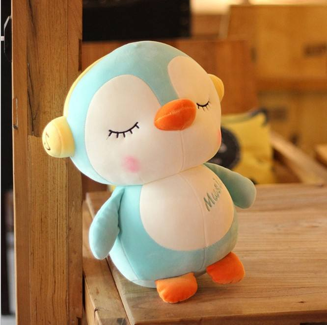 PP cotton wholesale promotion fashion custom plush toys cute plush penguin toy