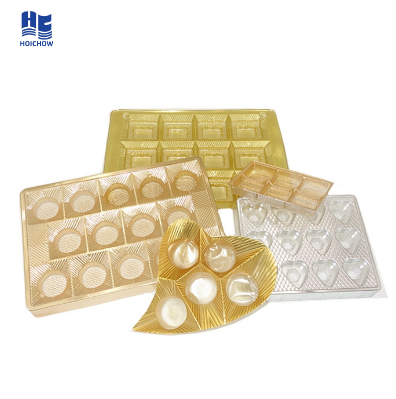 Hot Selling Custom Chocolate And Candy Blister Insert Tray/ Food Grade Blister Packing/Thermoformed Plastic Trays
