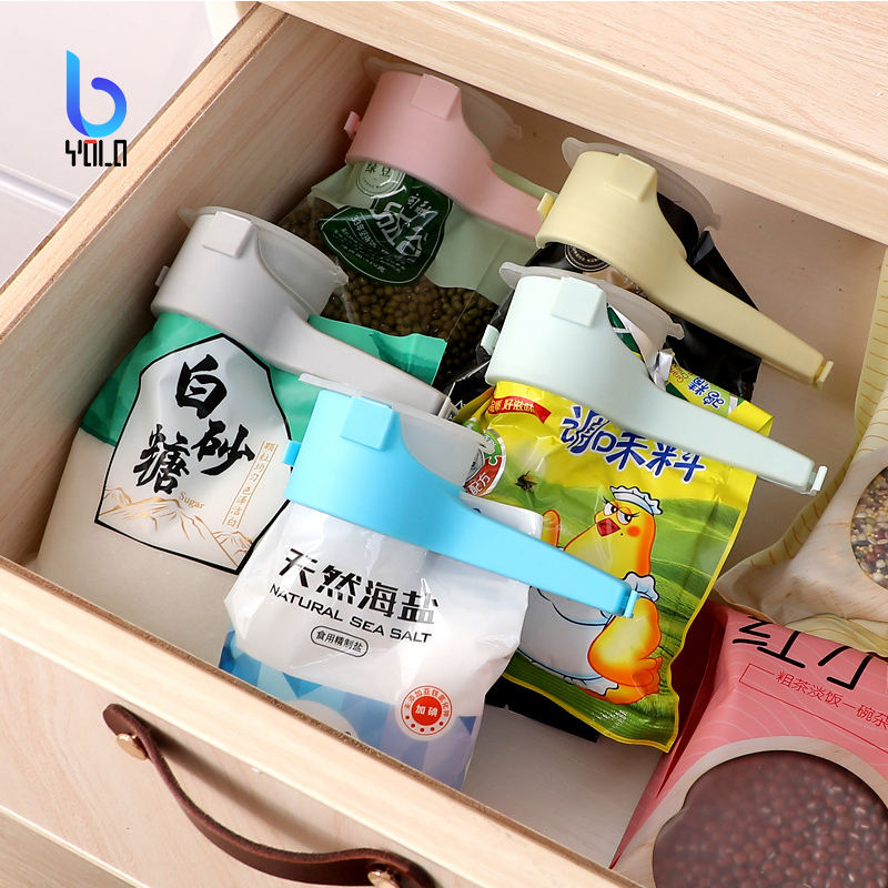 Yolo Bag Seal Clips Food Snack Storage Seal Sealing Pour Bag Clips Sealer Clamp Food Bag Clip