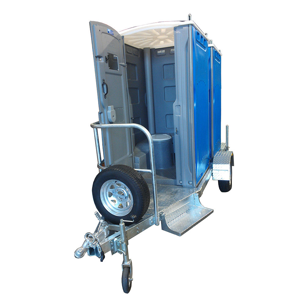 Mobile Movable Portable Toilet Trailer For Outdoor