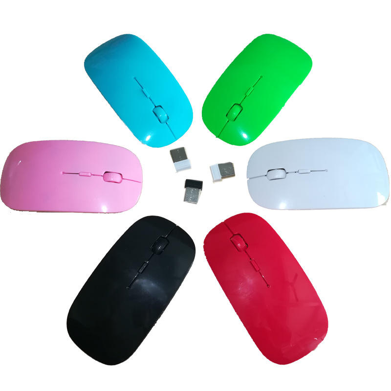 New USB Optical Wireless Computer Mouse 2.4G Receiver Super Slim Mouse For PC Laptop