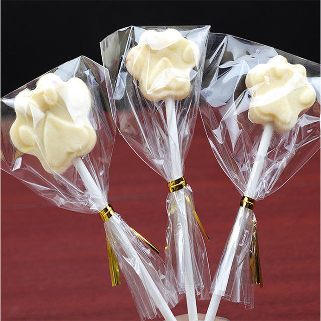 cellophane candy wrappers opp bag for lollipop packaging