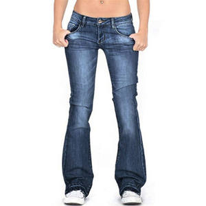 latest ladies jeans 2020 women's pants latest ladies jeans flare denim jeans