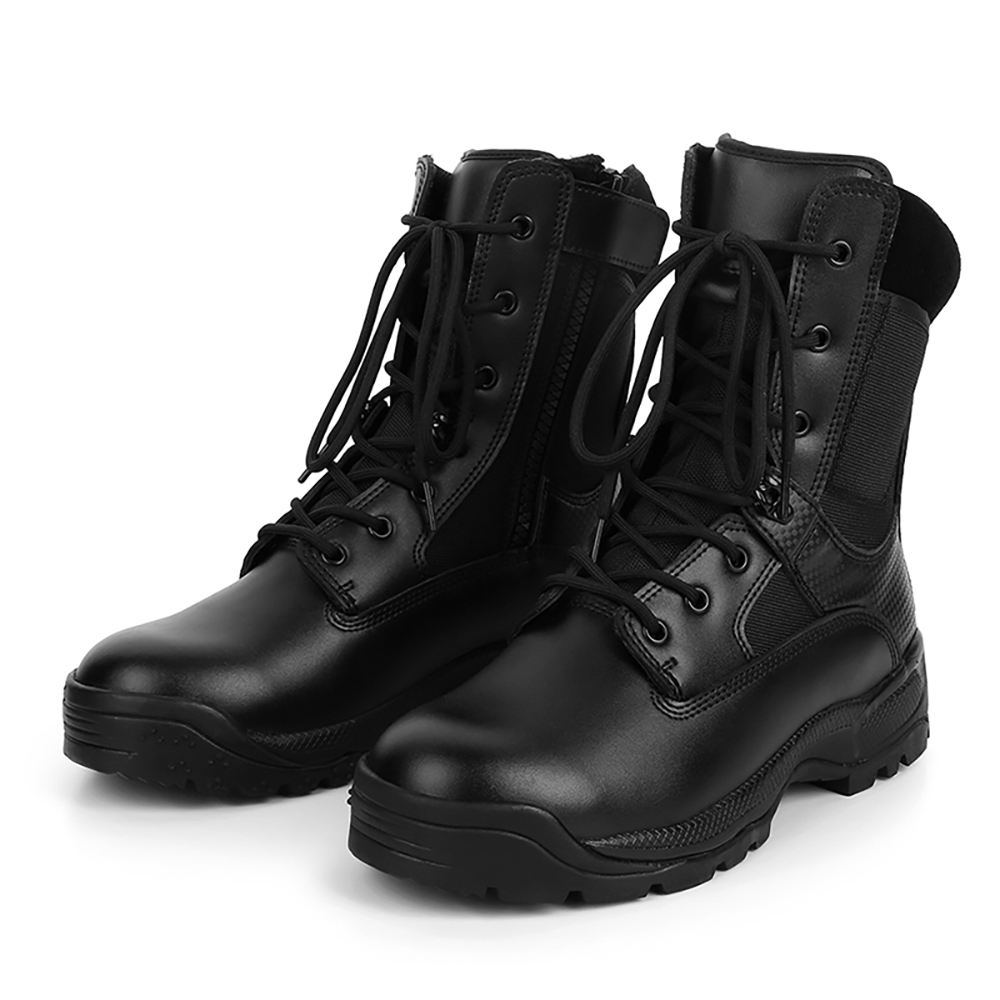 CQB.SWAT Military Army Leather Boots for Men Uniforms