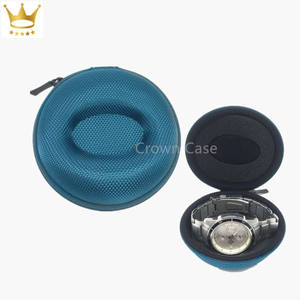 Crown Best Seller-caja de reloj acolchada EVA