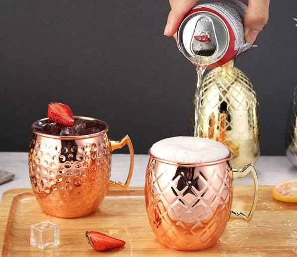 Factory Directly Promotion 304 Stainless Steel Cup Rose Gold Silver Mug Coffee Mug Beer Drinking Mug