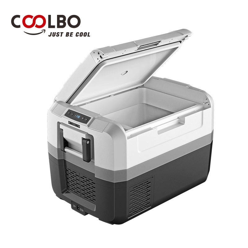 Wholesale 45L car fridge for car use camping mini refrigerator