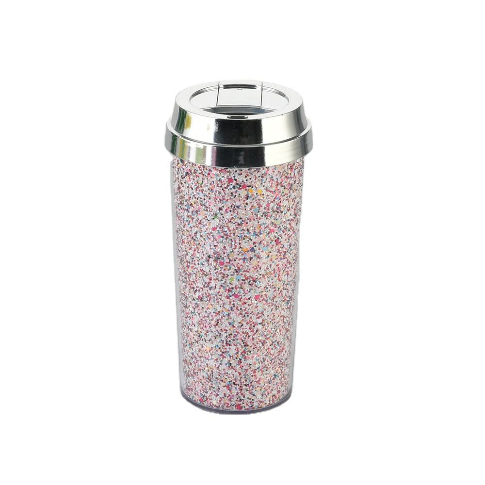 Unicorn Bubble Bath Iridescent Glitter Mix--BPA free wholesale reusable double wall coffee cups plain coffee cup with lid