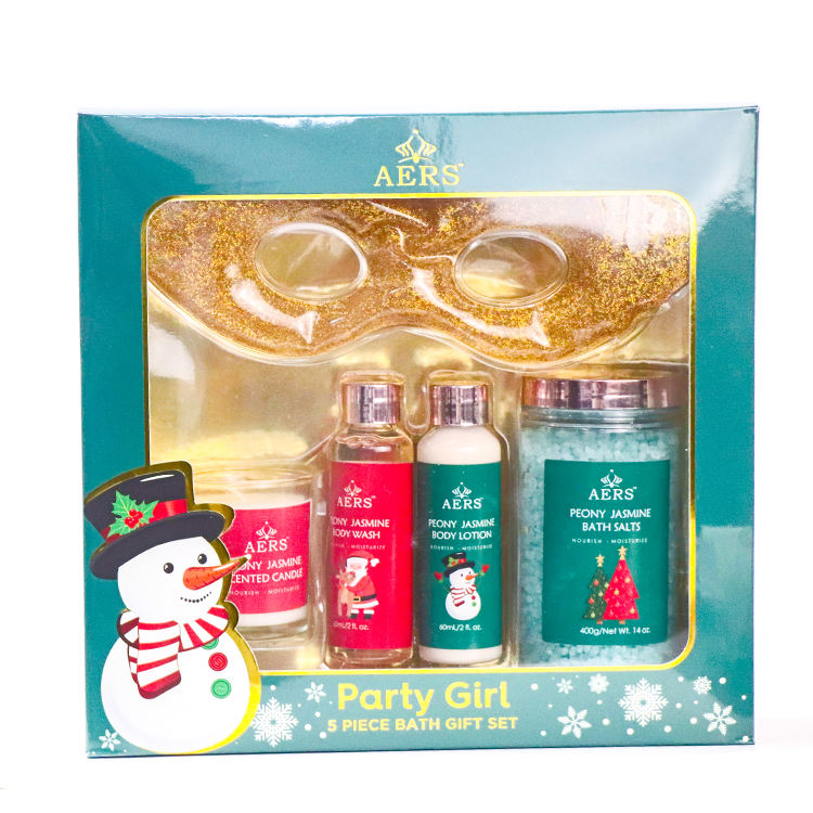 Gift Bath Spa Christmas Private Label Skin Care Set In A Box