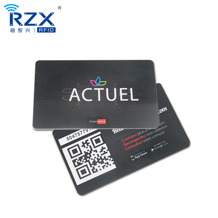 Credit card size Gift/membership visiting pvc plastic card