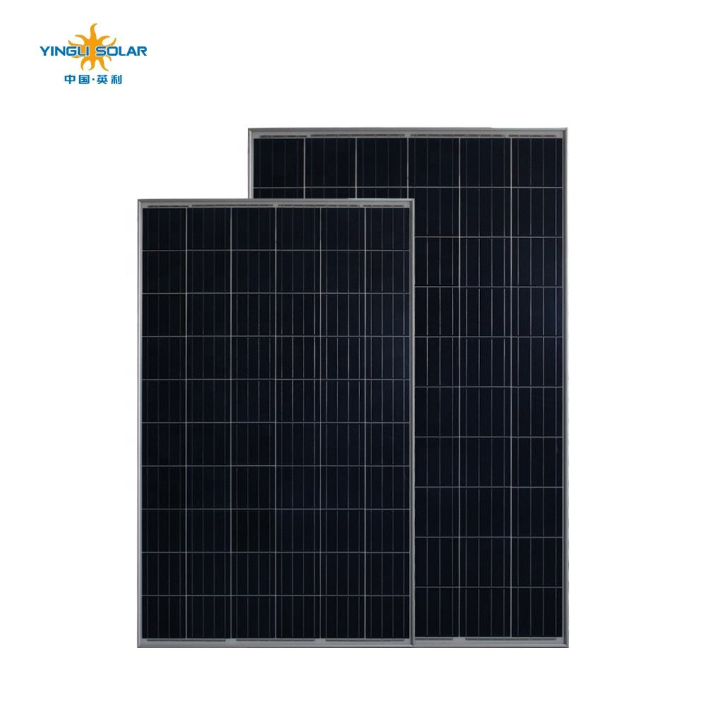 Export First-Rate Yingli 275W High Power Density Solar Panels Price China Solar Panel PV Manufacturer