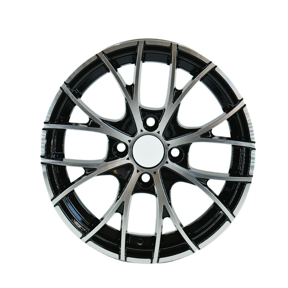 552 4x100 15 Inch Machine Face Car Alloy Wheels For South Asia Market