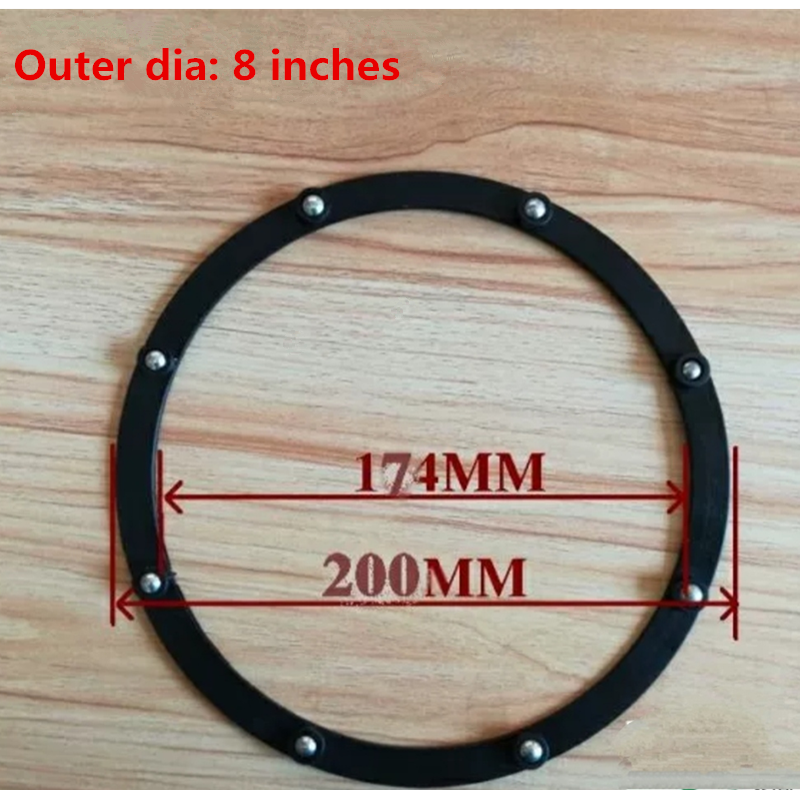 Plastic ball bearing for furnitures 2-8 inch
