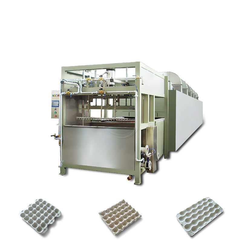 HGHY small paper egg dish tray making machine/egg box making machinery