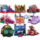 popular outdoor bounce houses jump cheap commercial bouncy castles for rent