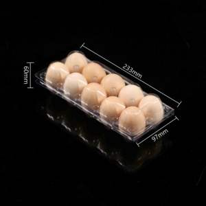 High quality Packaging Box For Eggs Clear Blister Packing