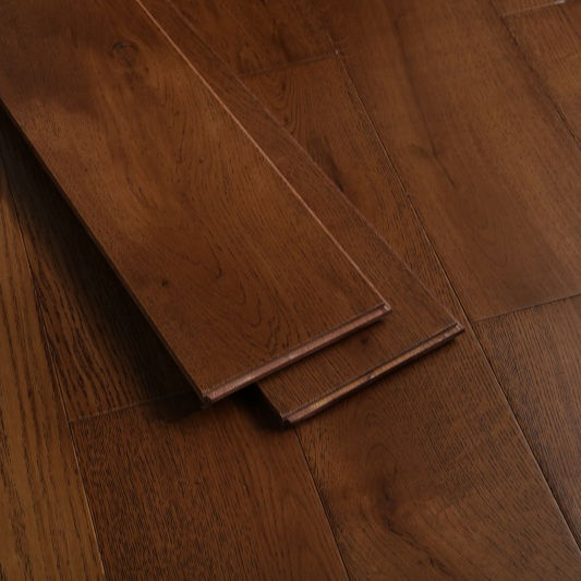 best price hardwood timber natural wood flooring oak solid wood flooring with walnut color