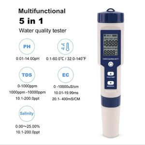 Acquario pocket pH/TDS/CE/sale lab ph meter misuratore di Salinità